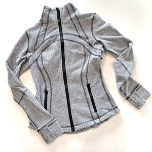 Lululemon- Define Jacket in Heathered Herringbone